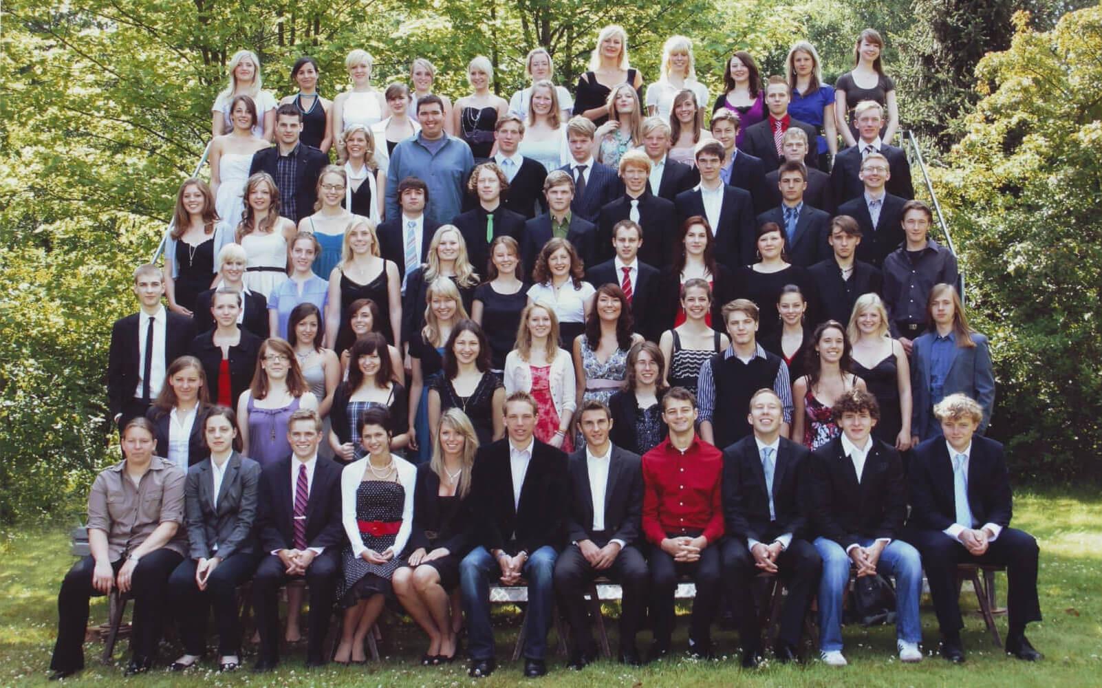 Abitur 2009 Jahrgangsbild