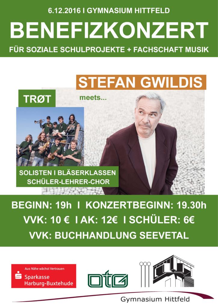 Plakat Benefiz Konzert
