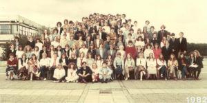 Abitur 1982 Jahrgangsbild - Banner