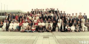 Abitur 1983 Jahrgangsbild - Banner