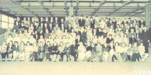 Abitur 1984 Jahrgangsbild - Banner