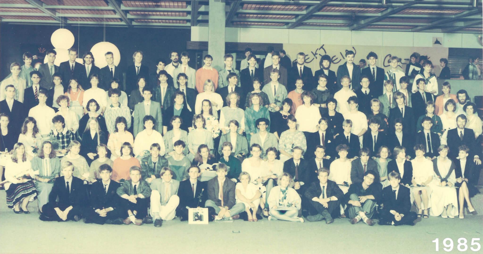 Abitur 1985 Jahrgangsbild