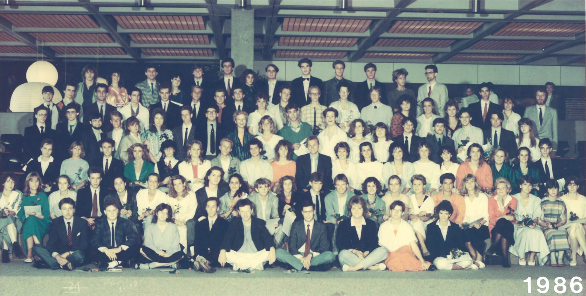 Abitur 1986 Jahrgangsbild