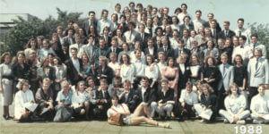 Abitur 1988 Jahrgangsbild - Banner