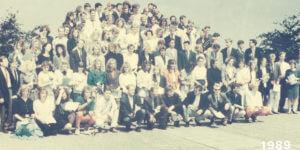 Abitur 1989 Jahrgangsbild - Banner