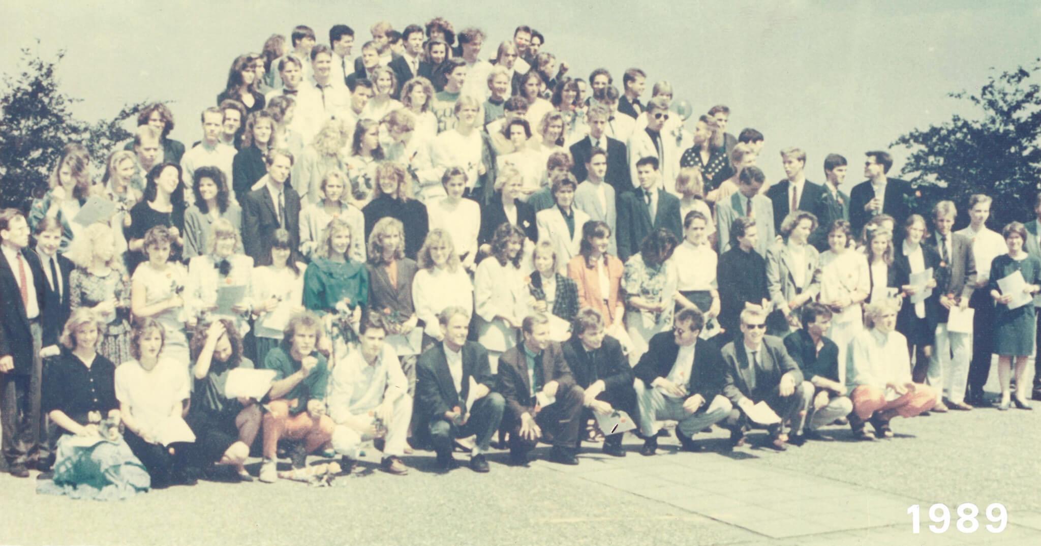 Abitur 1989 Jahrgangsbild