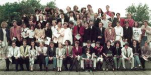 Abitur 1991 Jahrgangsbild - Banner