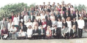Abitur 1992 Jahrgangsbild - Banner