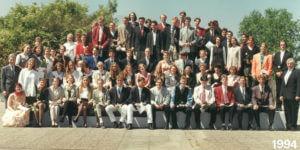 Abitur 1994 Jahrgangsbild - Banner