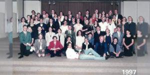 Abitur 1997 Jahrgangsbild - Banner