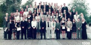 Abitur 1998 Jahrgangsbild - Banner