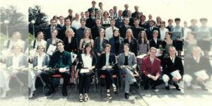 Abitur 1999 Jahrgangsbild - Banner