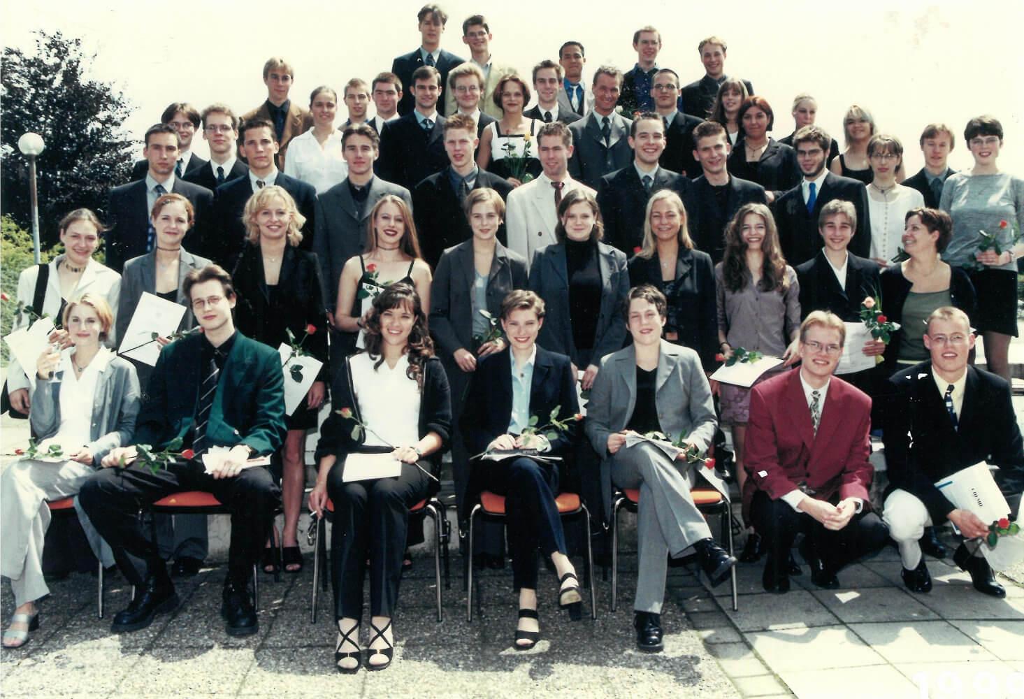Abitur 1999 Jahrgangsbild