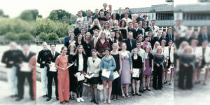 Abitur 2000 Jahrgangsbild - Banner