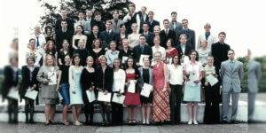 Abitur 2001 Jahrgangsbild - Banner