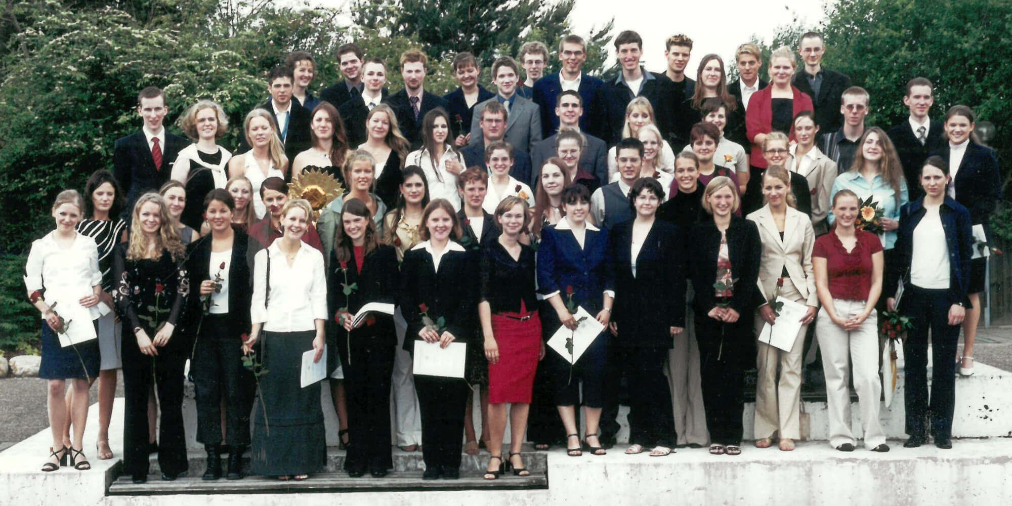 Abitur 2002 Jahrgangsbild - Banner