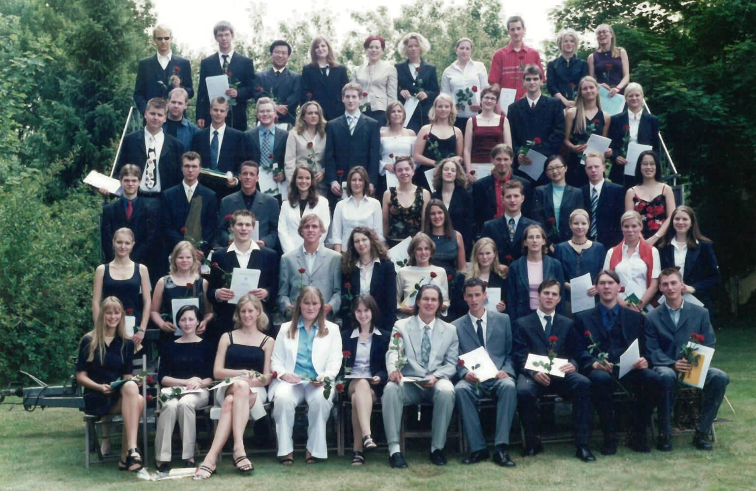 Abitur 2003 Jahrgangsbild