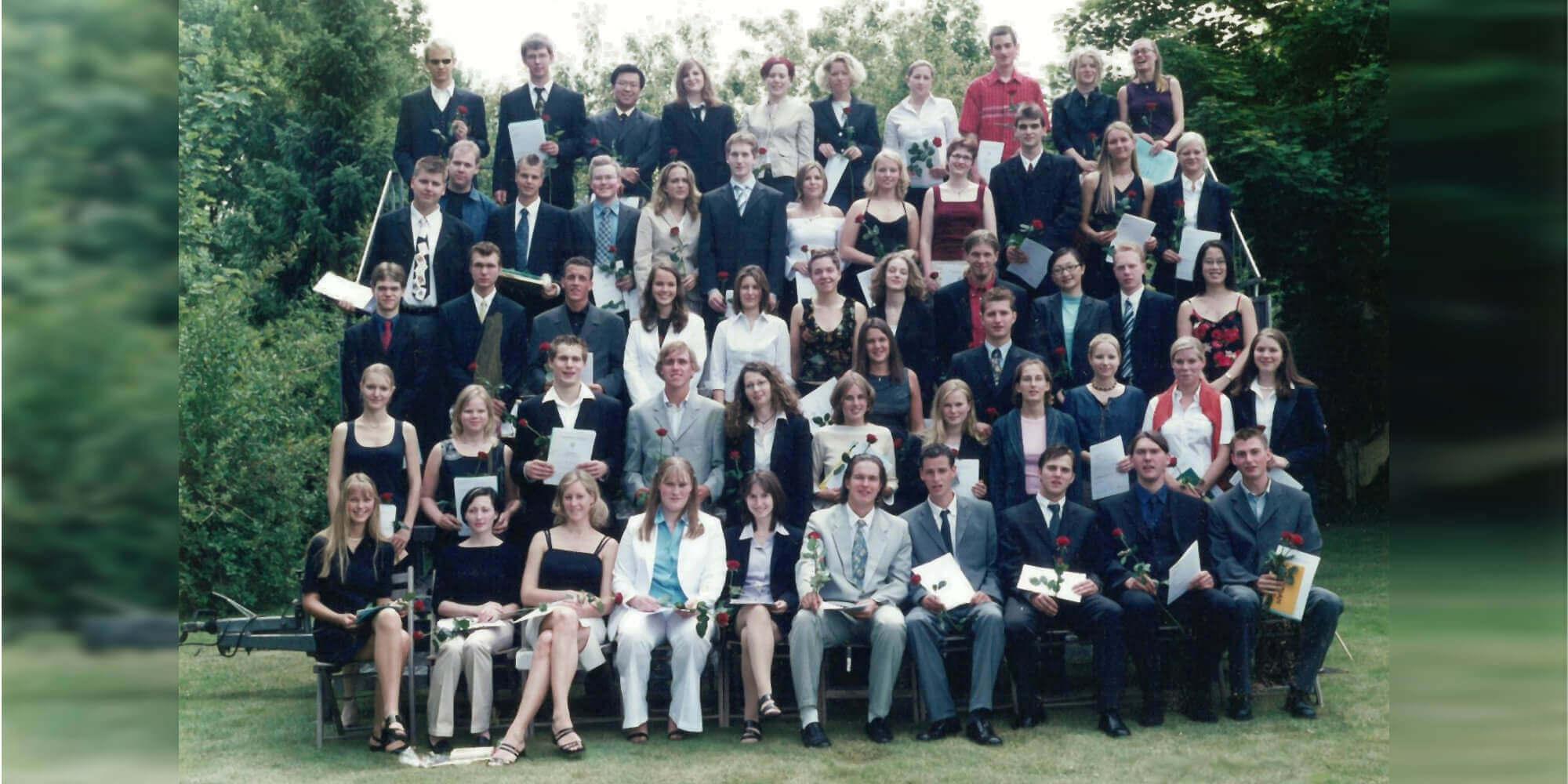 Abitur 2003 Jahrgangsbild - Banner