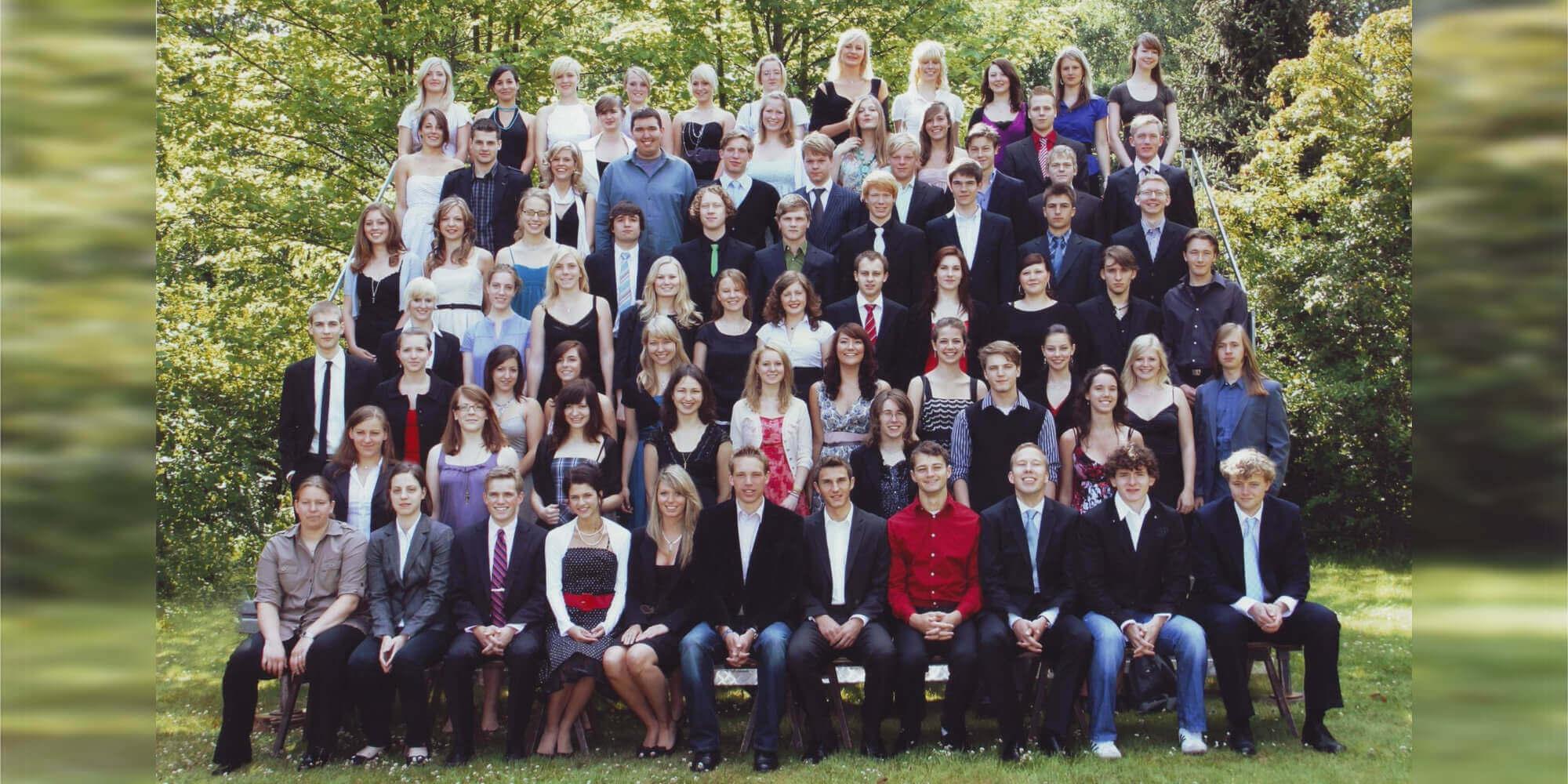 Abitur 2009 Jahrgangsbild - Banner