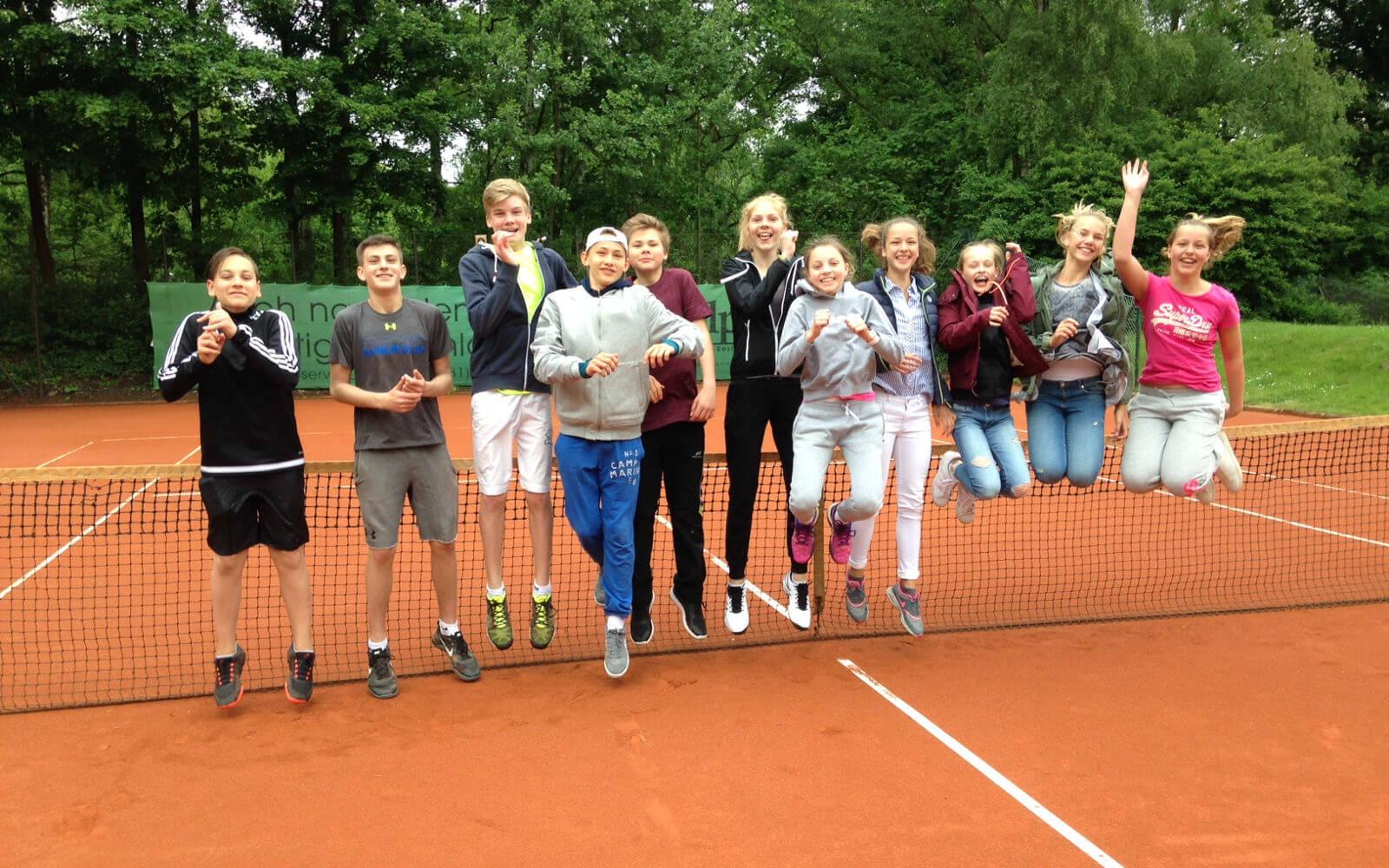 Tenniscracks beim Bezirksentscheid in Lüneburg
