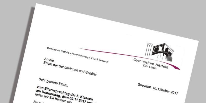 gymnasium hittfeld – gymnasium des landkreises harburg, gemeinde, Einladung